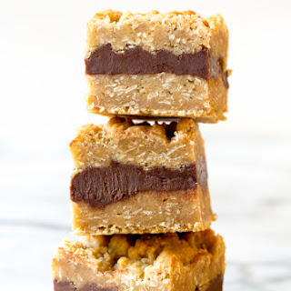 Oatmeal Fudge Bars.