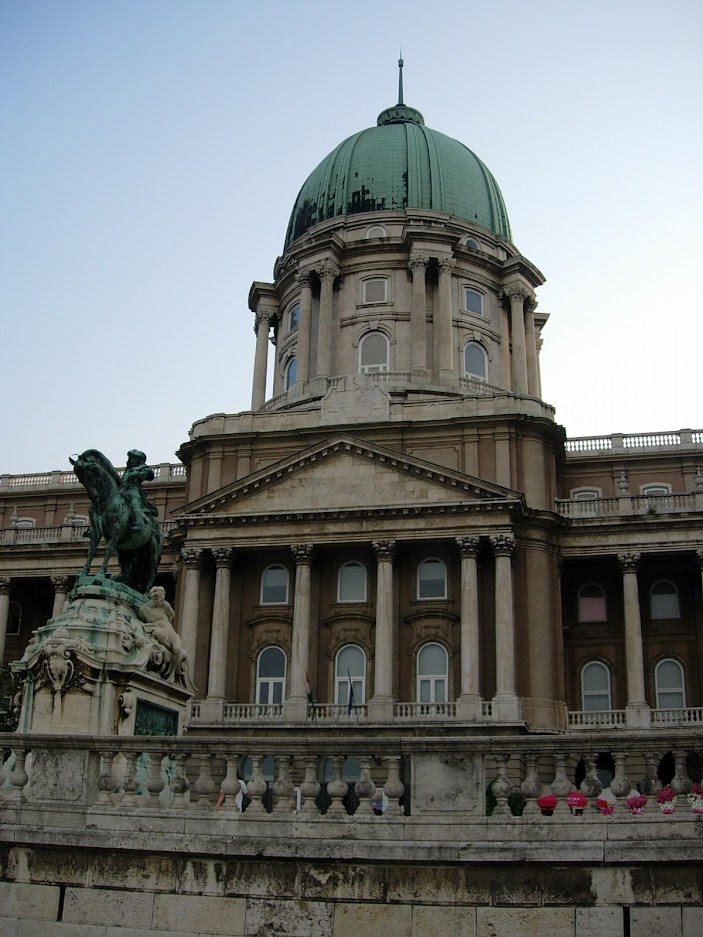 Château de Buda à Budapest