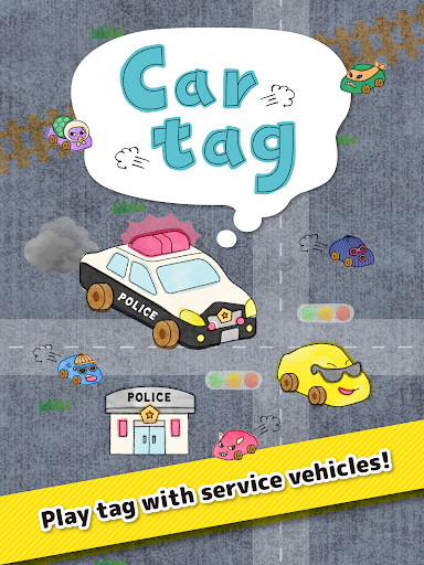 Car tag - Play tag with service vehicles! 1.1 screenshots 6