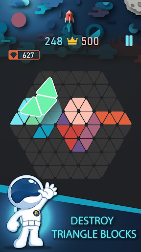Trigon : Triangle Block Puzzle Game 1.8.3 gameplay | by HackJr.Pw 1