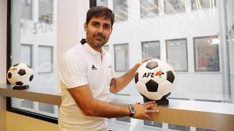 El presidente de la Asociación de Futbolistas Españoles (AFE), David Aganzo.