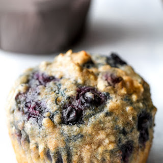 Maple Flax Blueberry Muffins Recipe
