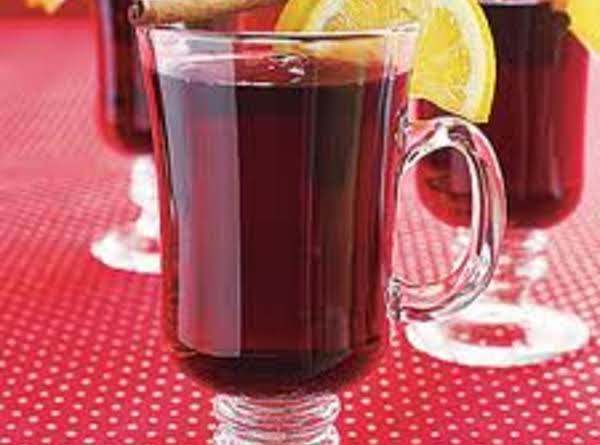 Red Christmas Punch (hot Mulled Cider) Recipe