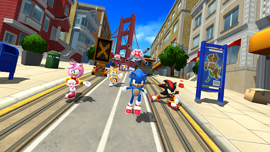 Sonic Forces Mod 3.0.1 Apk [Unlimited Money] 1