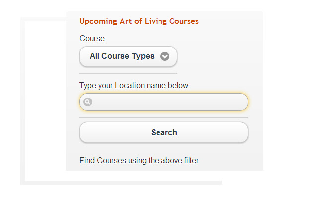 Find - Art Of Living Courses