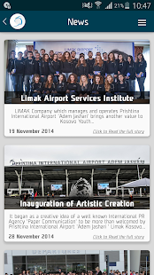 Pristina International Airport screenshot