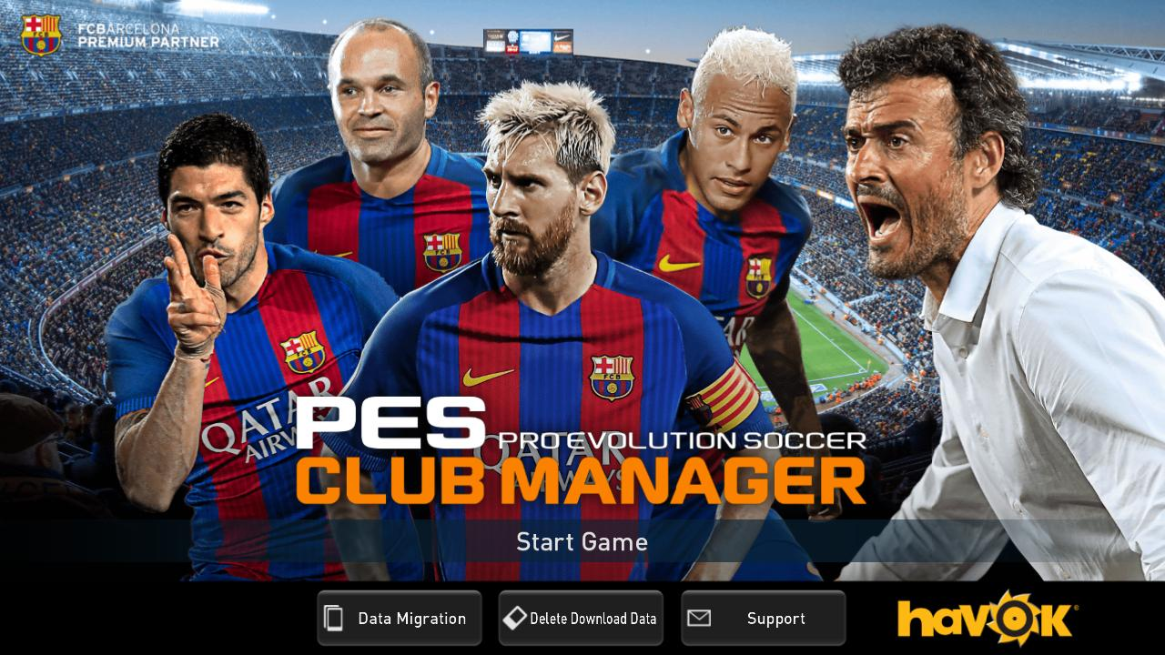 PES CLUB MANAGER- screenshot