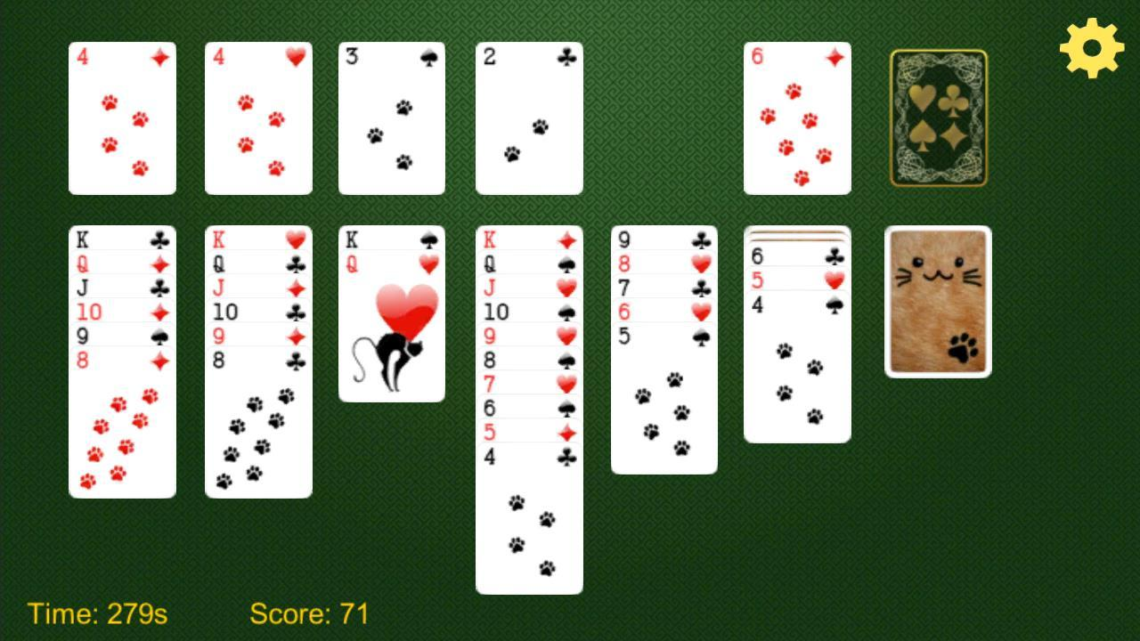 Loving Card Solitaire Klondike- screenshot