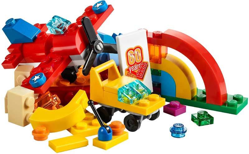 Contenido de Lego® 10401 Arcoíris de Diversión