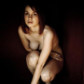 Naked vs. Nude by Ryan Katsanes - Nudes & Boudoir Artistic Nude ( oregon, nude, portland, cori lee, outdoor, natural light )