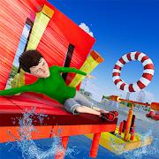 Tricky Adventure Stuntman Water Run : Water Stunts