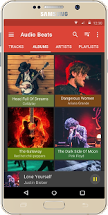Audio Beats - Free Music Player & Mp3 player Screenshot