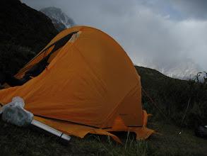 Photo: Im ersten Camp angekommen