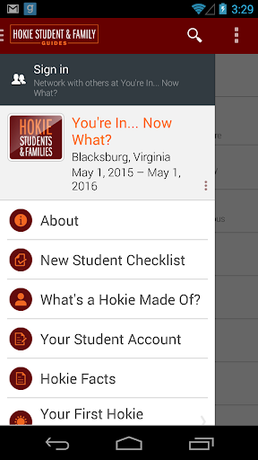 Hokie Student Family Guide
