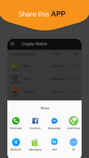 Crypto Watcher Pro - Live Price Tracking - náhled