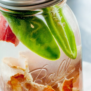 Hot Pepper + Bacon Vodka