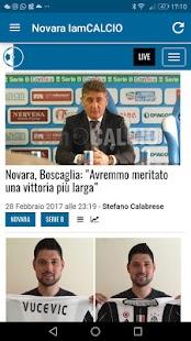 Novara IamCALCIO - náhled