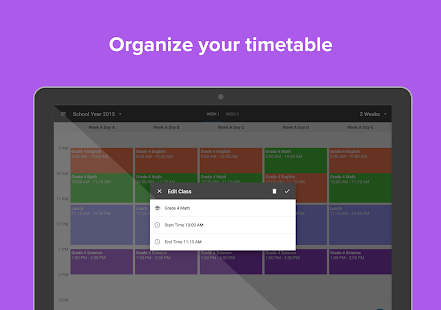 Planboard Free Lesson Planner- screenshot thumbnail