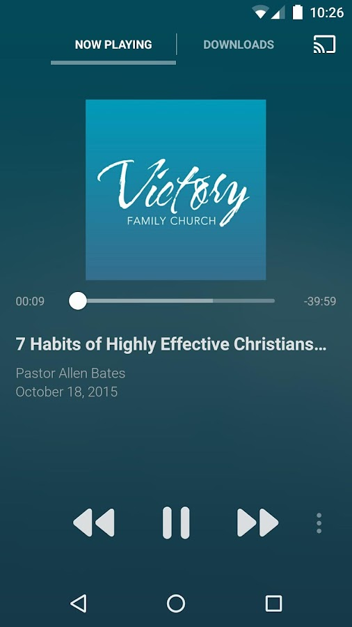 Victory Family Church App- screenshot