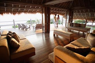 Photo: Sunset lounge and balcony