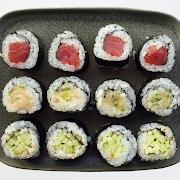 1. Tuna, Hamachi and Cucumber