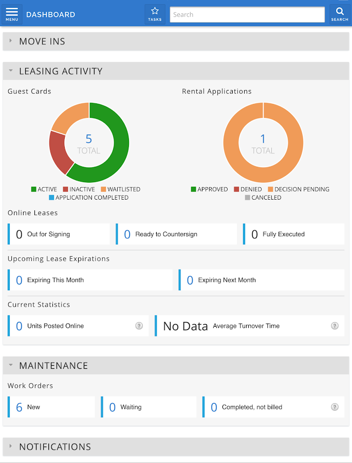 AppFolio Property Manager- screenshot