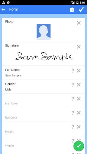 Fake ID Generator 3.5.1 screenshots 2