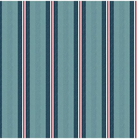 Pip 2020 Blurred Lines Tapet med linjer - Mörkblå