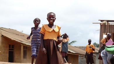 Photo: Akwidaa, school girl, west coast, Ghana
