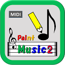 Paint Music 2(かんたん作曲 音楽シーケンサー )