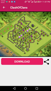 Clash Of Clans Maps 2018