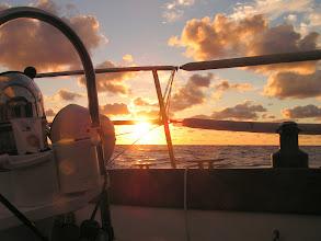 Photo: Закат в Гольфстриме/Sunset in Gulfstream
