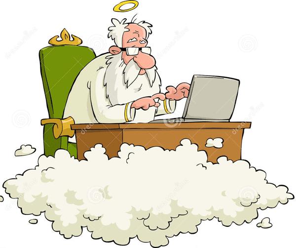 Thượng đế bán máy in