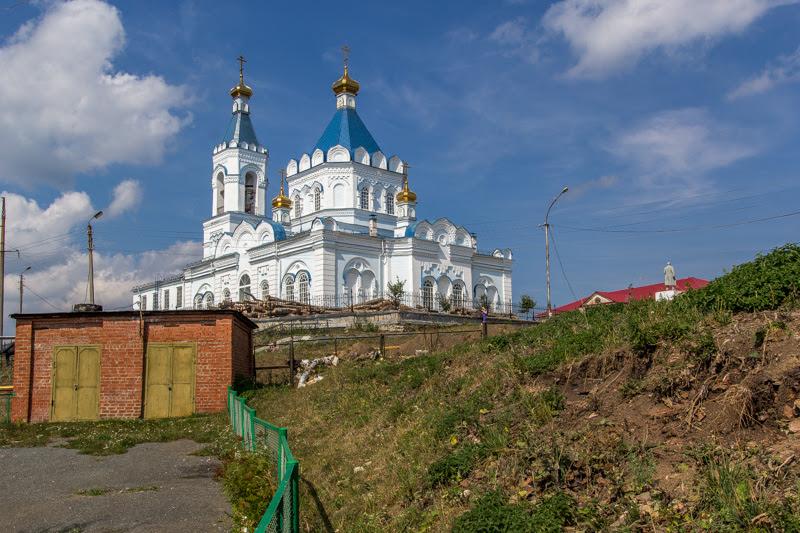 верхнесергинская церковь
