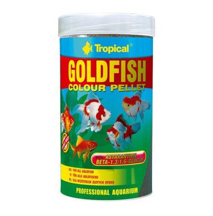 Tropical Goldfish Colour Pellets 250ml/90g