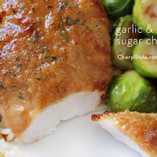 Sweet Garlic Glazed Chicken