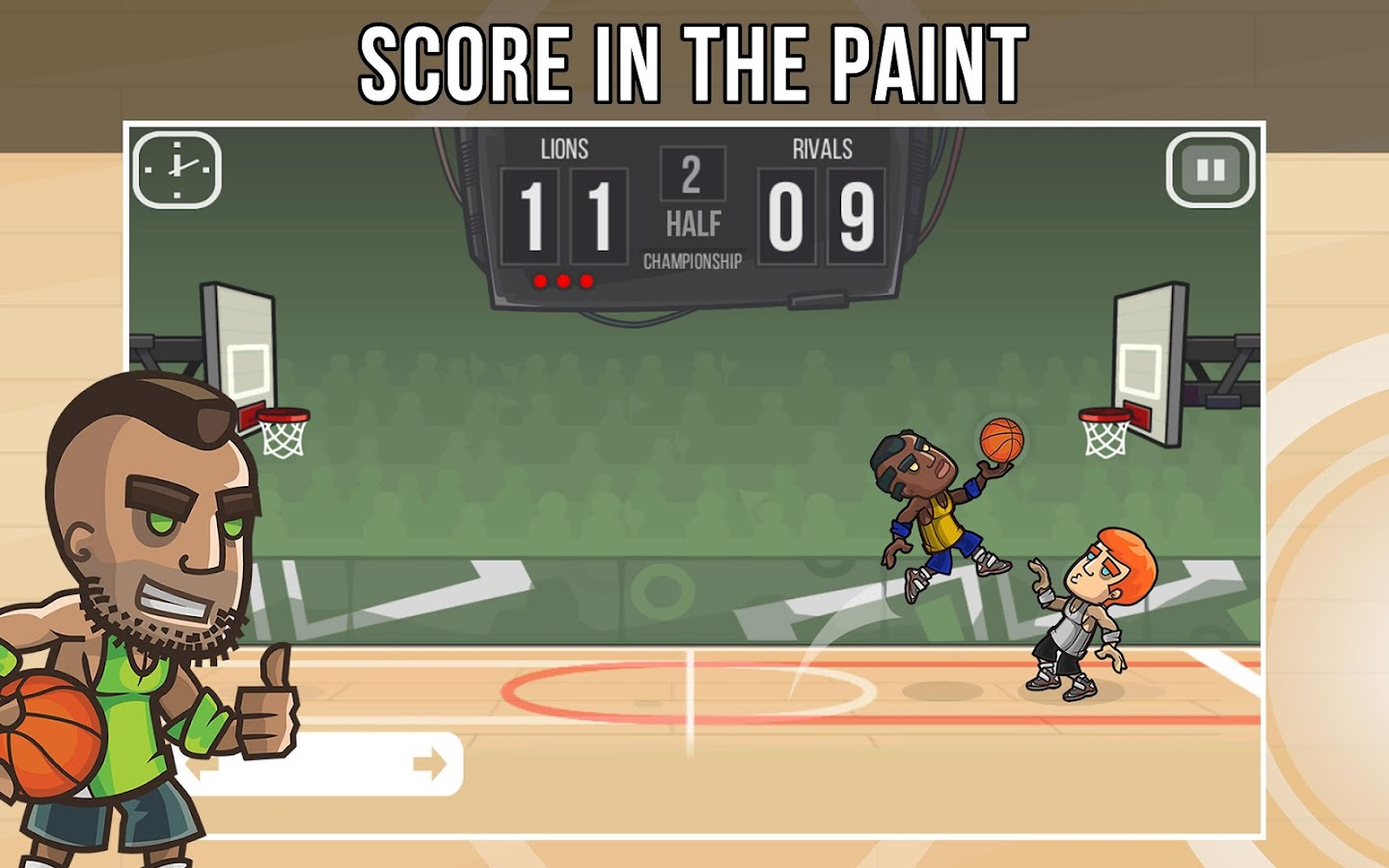 Basketball Battle- screenshot