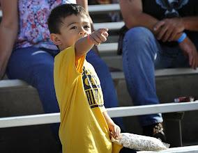 Photo: The kids also got free Colby Ridge popcorn.