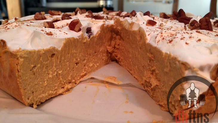 PROTEIN Pumpkin Cheesecake Recipe (Bodybuilding/Low Fat) Recipe