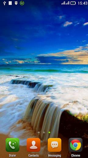 Bright seascape LWP