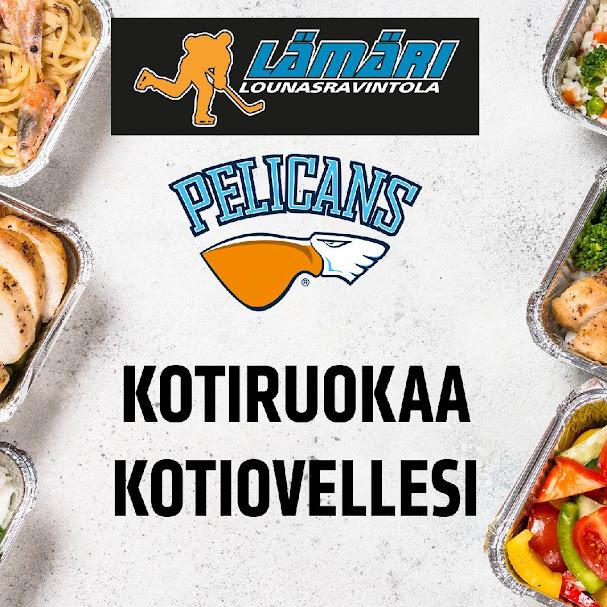 Kotiruoan lisäksi Pelicans kuljettaa kotiovellesi ensi viikosta alkaen myös Lahen Kauppahallin herkkuja.