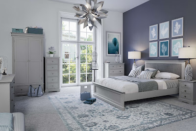sterling grey painted bedroom range