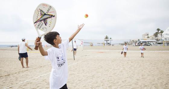 San Juan de los Terreros clausura la 'V Copa Diputación de Tenis Playa'