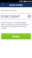 Screenshot of Calling Card Pal