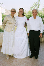 Photo: Savta Gloria and Saba Mike Kramer and Chava-Leah