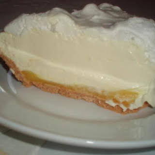 Triple Layer Lemon Meringue Pie.