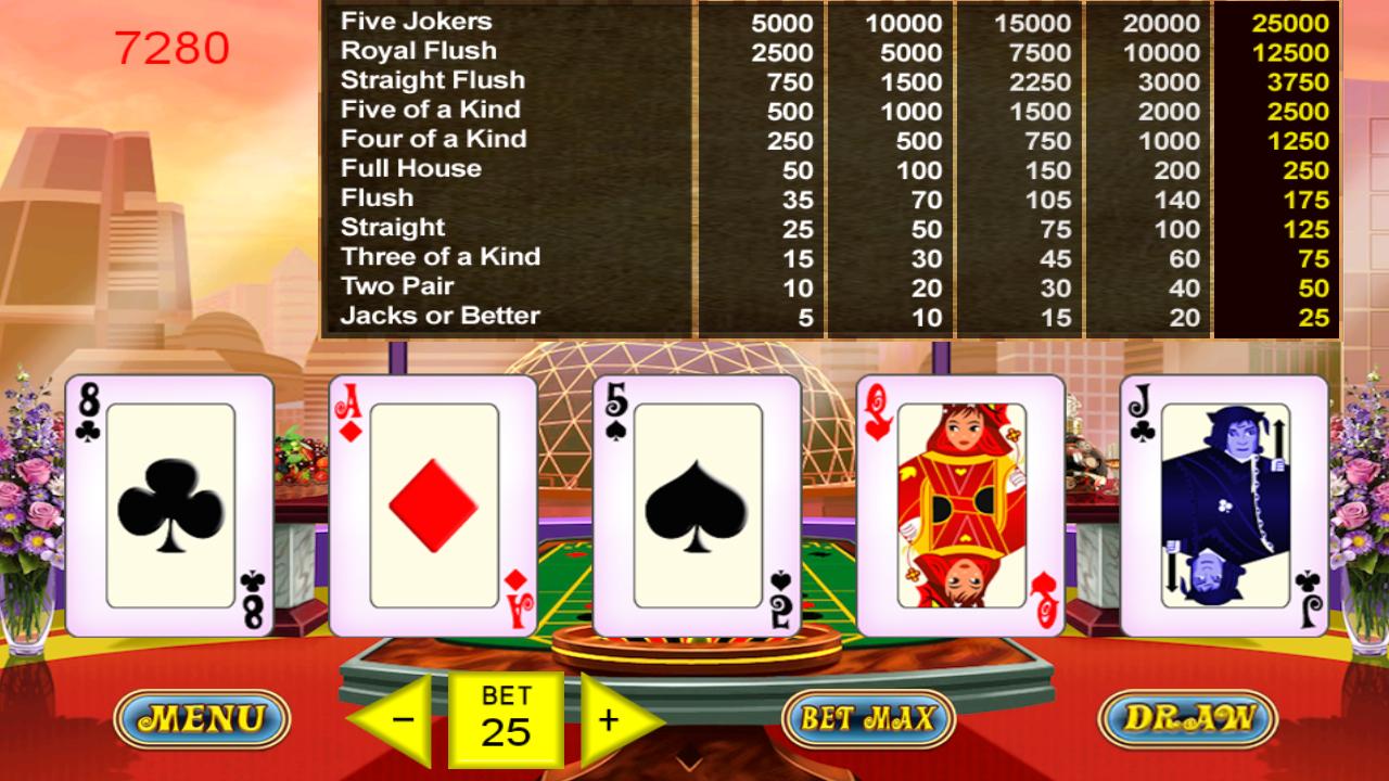 Mj poker