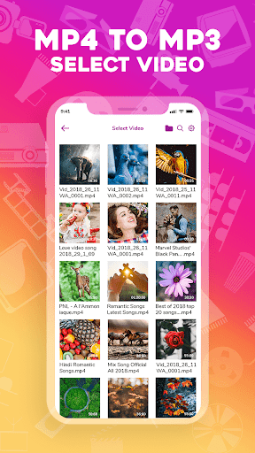 Mp4 to mp3-Video to mp3-Mp3 video converter 1.6.0 screenshots 2