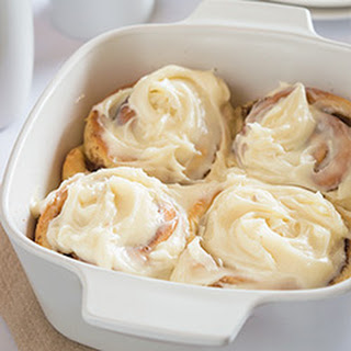 Easy Overnight Cinnamon Rolls for Two