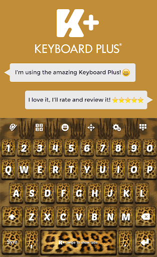 Cheetah Keyboard Theme HD